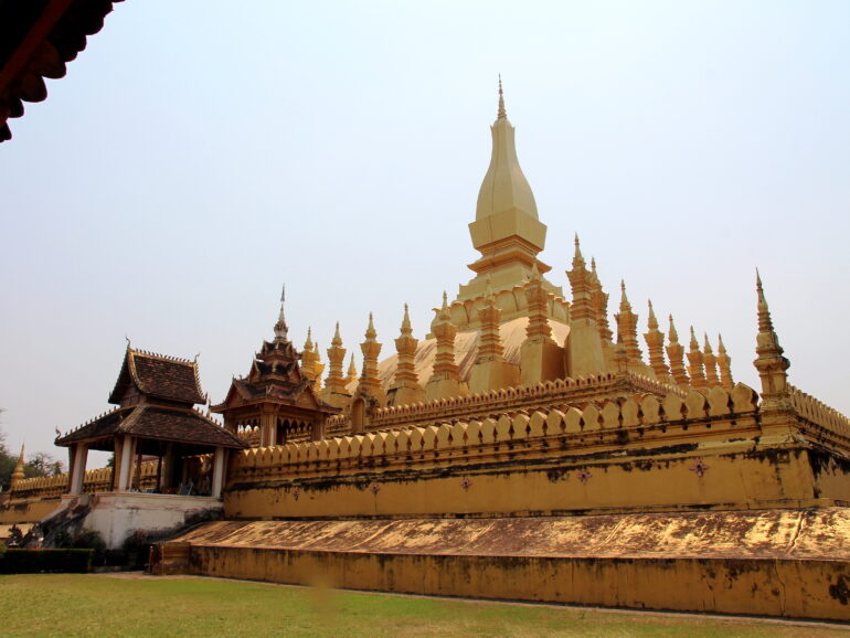 Vientiane from stupa to pupa