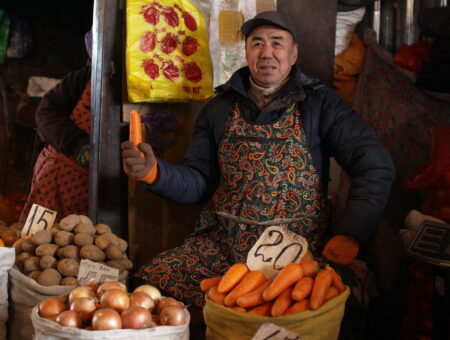 Bishkek's Osh Bazaar
