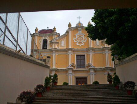 Macau. Around St Augustine's